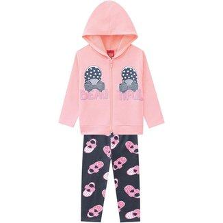 Conjunto Infantil Feminino Jaqueta + Legging Kyly 207354.0467.8 Kyly