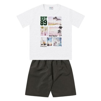 Conjunto Infantil For Fun by Fakini Estampado Masculino