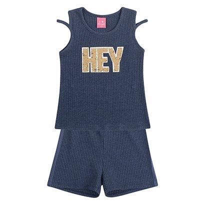 Conjunto Infantil Kamylus Hey Feminino