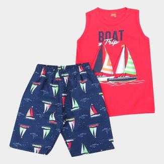 Conjunto Infantil Kyly Boat Trip Masculino