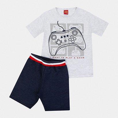 Conjunto Infantil Kyly Game Masculino