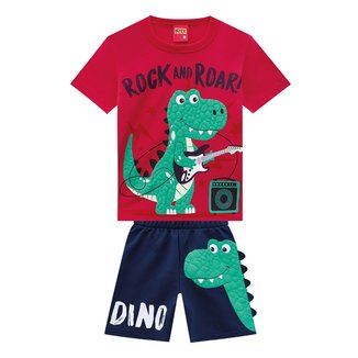 Conjunto Infantil Kyly Rock and Roar Masculino