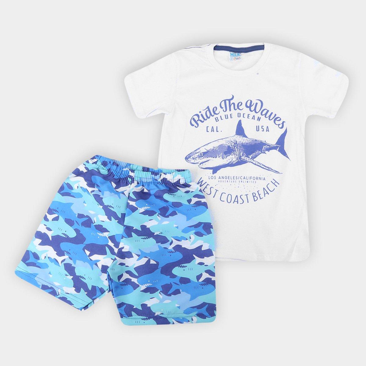 Conjunto Infantil Blue Ocean