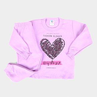 Conjunto Infantil Mia Kids Fashion Feminino
