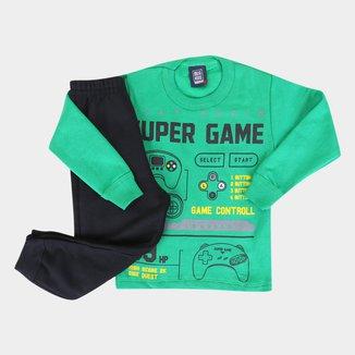 Conjunto Infantil Mia Kids Gamer Masculino