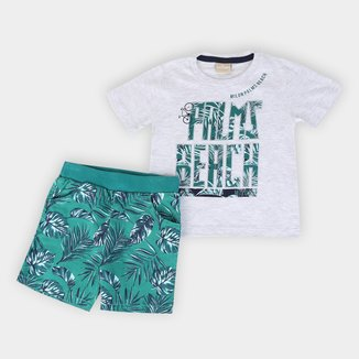 Conjunto Infantil Milon Palms Beach Masculino