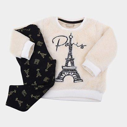 Conjunto Infantil Milon Paris Feminino