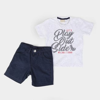 Conjunto Infantil Milon Play Outside Masculino