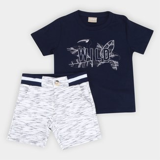 Conjunto Infantil Milon Praia Wild Masculino