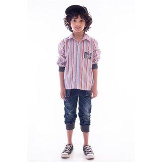 Conjunto Infantil MRX Esportivo Jeans Inverno Masculino