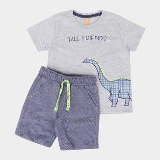 Conjunto Infantil Up Baby Moletom Sarjado Masculino