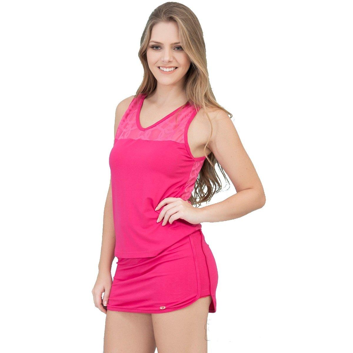 9d34ffc516 Conjunto Inspirate de Short Saia e Blusa Devorê Feminino - Compre Agora