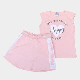 Conjunto Juvenil Pulla Bulla Happy Summer Feminino
