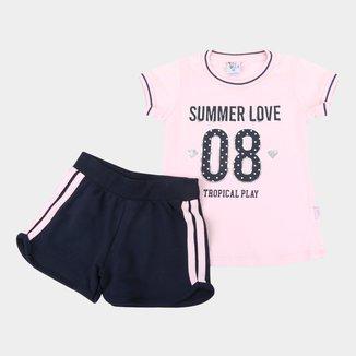 Conjunto Juvenil Pulla Bulla Summer Love Feminino