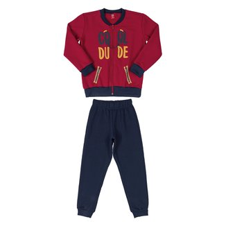 Conjunto Moletom Infantil Bee Loop Cool Dude Masculino