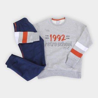 Conjunto Moletom Infantil Hering 1992 Masculino