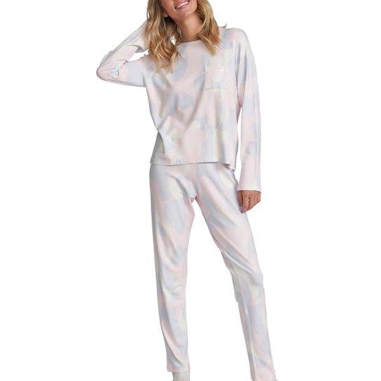 Conjunto Pijama Com Amor Feminino - Lilás