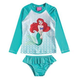 Conjunto Praia Infantil Tip Top Disney Princesas Feminino