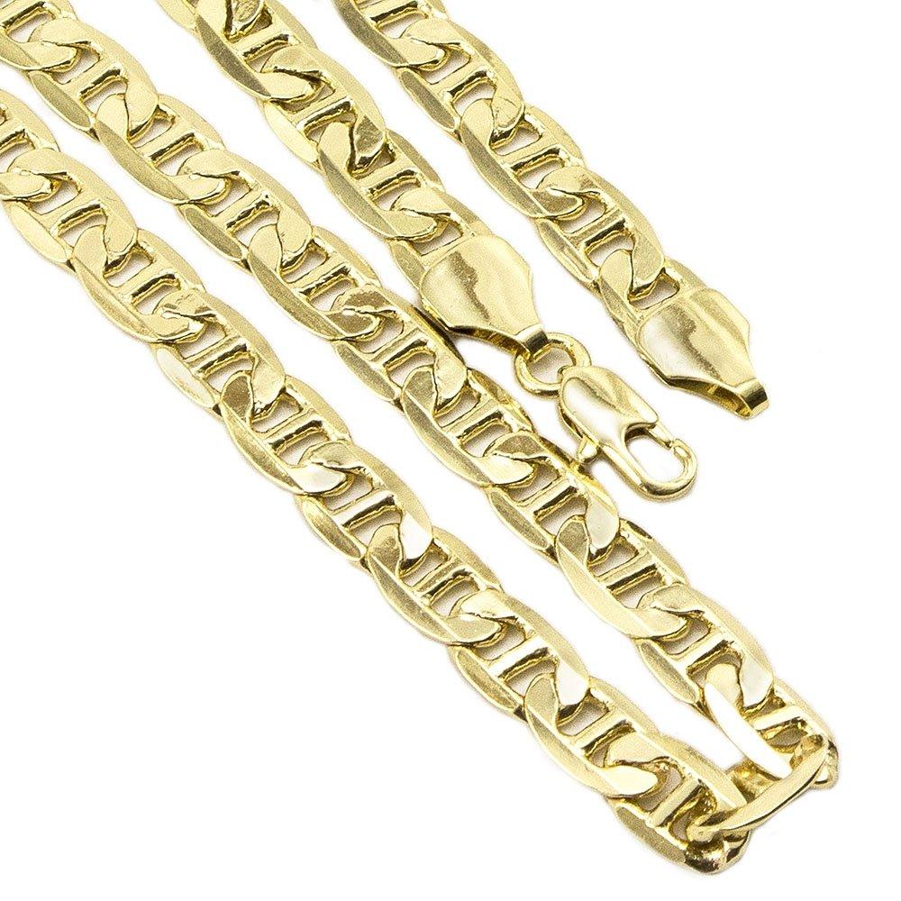 dbe859b89f9 Conjunto Tudo Joias Pulseira Com Corrente Cartier Folheado A Ouro 18K -  Dourado - Compre Agora