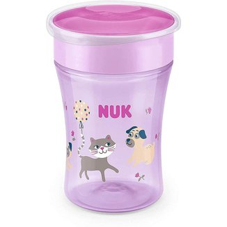 Copo NUK Magic Cup 360 Evolution 230ml - Girl