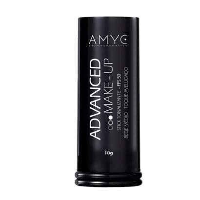 Corretivo Bastão Stick Tonalizante FPS 50 Advanced AMYC Vitamina E e FPS 50 Bege Claro 18g