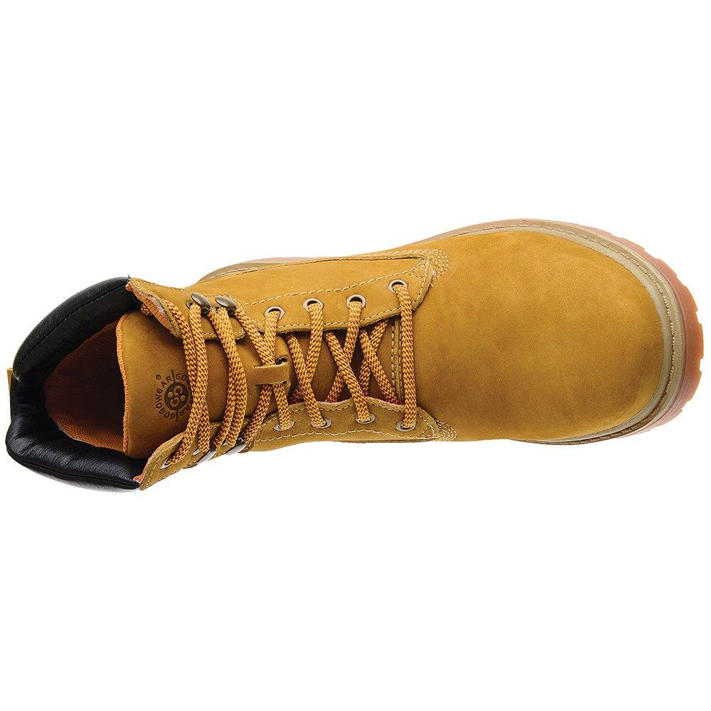 9b2e15f200d7a Coturno Em Couro Gogowear Radiance - Bege - Compre Agora   Zattini
