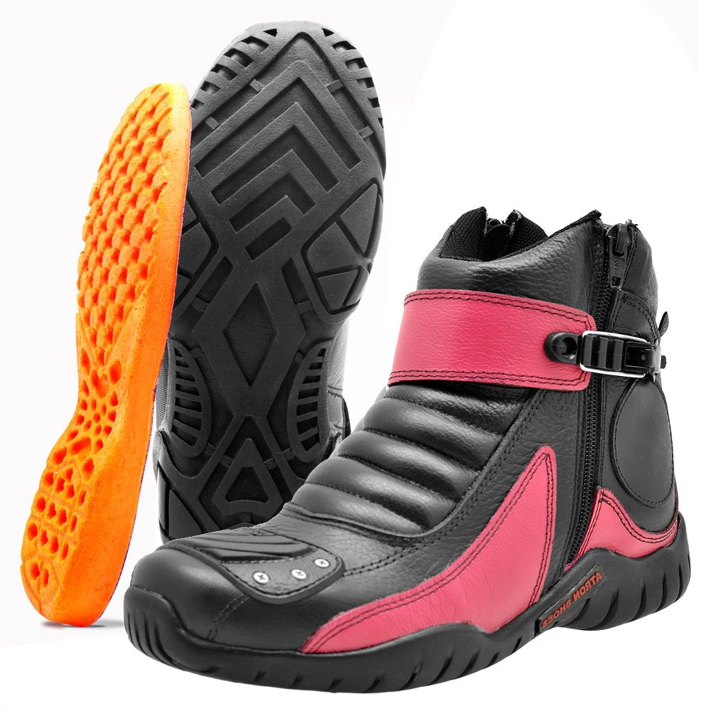 Atron e Shoes Masculino Shoes Coturno e Preto Rosa Coturno Rosa Masculino Atron Preto nfqrwfAI