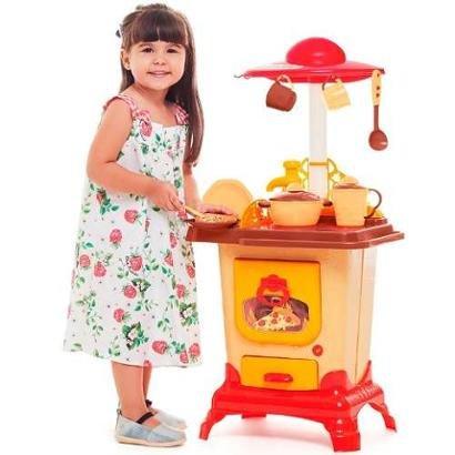 Cozinha Infantil Brinquedo Cozinha Do Sítio Calesita C1306