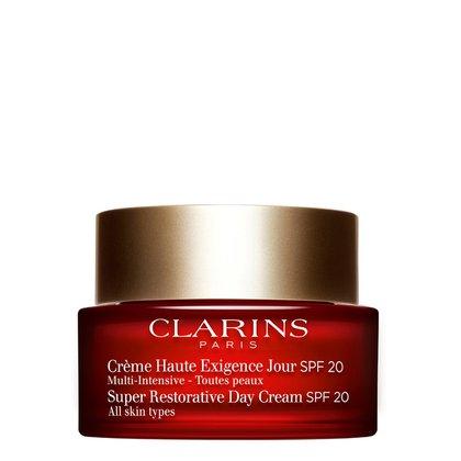 Creme Anti-Idade Clarins Super Restorative Day Cream FPS 20