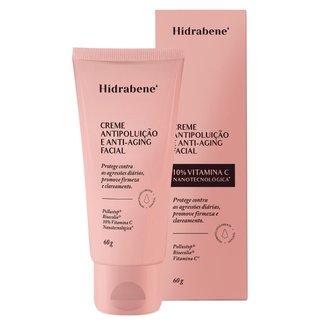 Creme Antipoluição Anti-Aging Facial - Hidrabene 60g