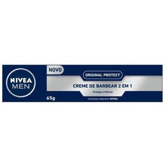 Creme de Barbear Nivea Men Original Protect - 65g