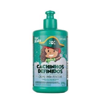Creme de Pentear Vini Kids Cachinhos Definidos 290g Vini Lady
