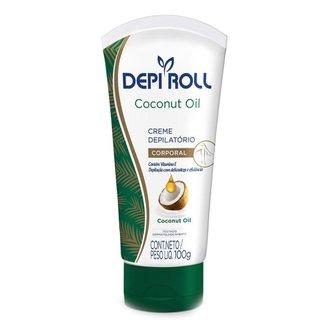 Creme Depilatório Corporal DepiRoll – Coconut Oil 100g