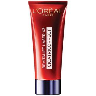 Creme Facial Anti-Idade Revitalift Laser X3 L'Oréal Paris Cicatri Correct FPS 25 - 30ml