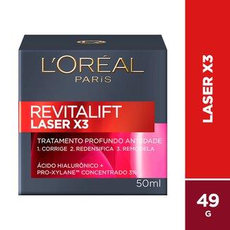 Creme Facial Antiidade L'oréal Paris Revitalift Laser X3 Diurno