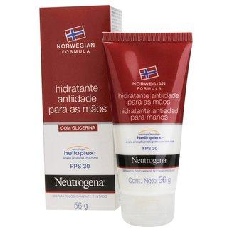 Creme Hidratante Anti-Idade Para Mãos Neutrogena Norwegian FPS 30 56g