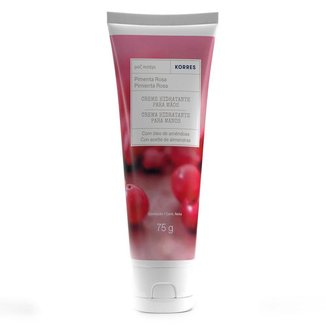 Creme Hidratante para Mãos Korres – Pimenta Rosa 75g