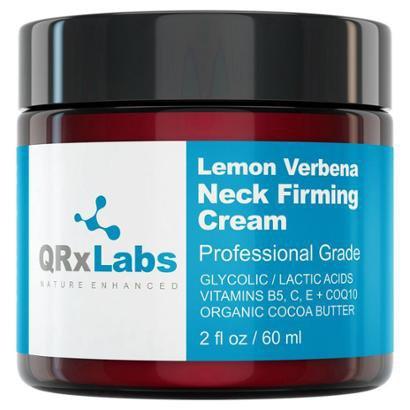 Creme para a Área do Pescoço QRxLabs Lemon Verbena Firming 60ml