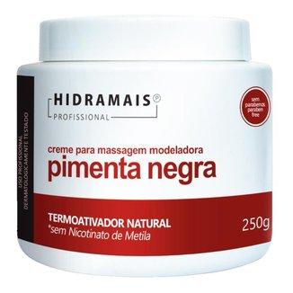 Creme Termoativado Hidramais - Pimenta Negra 250g