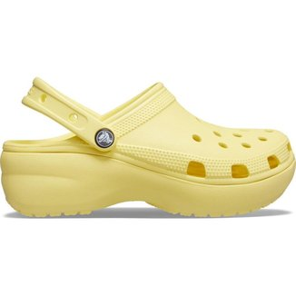 Crocs Classic Platform Clog w Banana