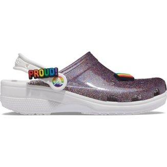 Crocs Classic Translucent Glitter Clog