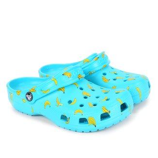 Crocs Infantil Classic Food Print Clog K Feminina