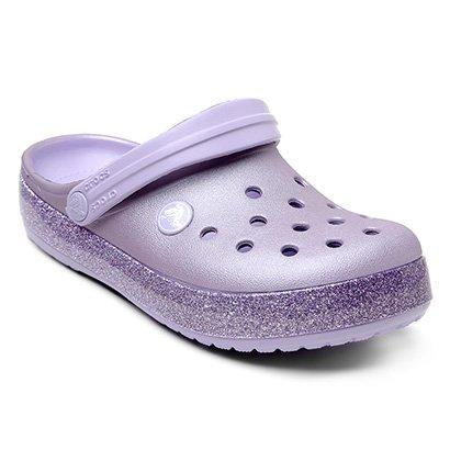 Crocs Infantil Crocband Glitter Clog