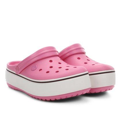 Crocs Infantil Crocband Platform Clog