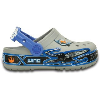 Crocs Infantil CrocsLights Star Wars X-wing Clog Masculino