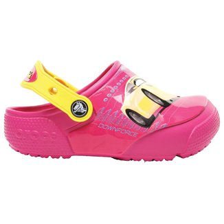 Crocs Infantil Funlab Lights Cars Feminino