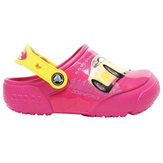 Crocs Infantil Funlab Lights Cars Feminino