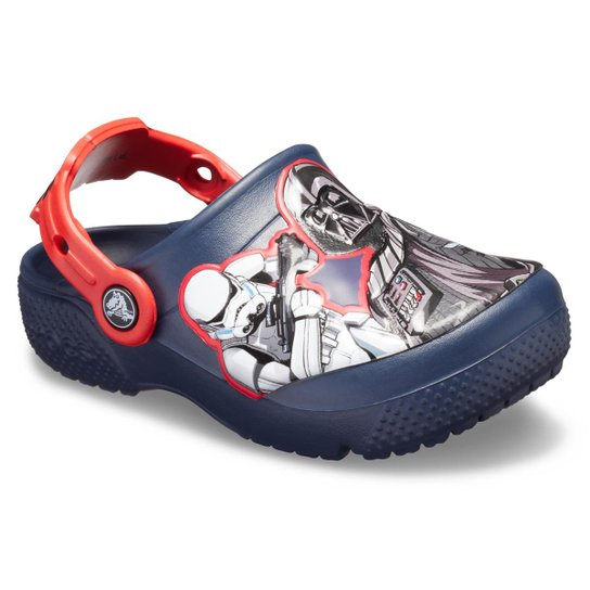 Crocs Infantil Funlab SW Dark Side Clog Kids Masculino - Azul