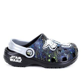 Crocs Infantil Star Wars Baby Yoda Masculino
