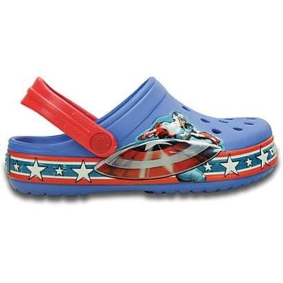 Crocs Infatil Cap America Clog Masculino